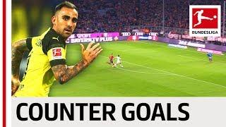 Alcacer, Reus & Co. - Top 10 Counter-Attack Goals 2018/19 So Far