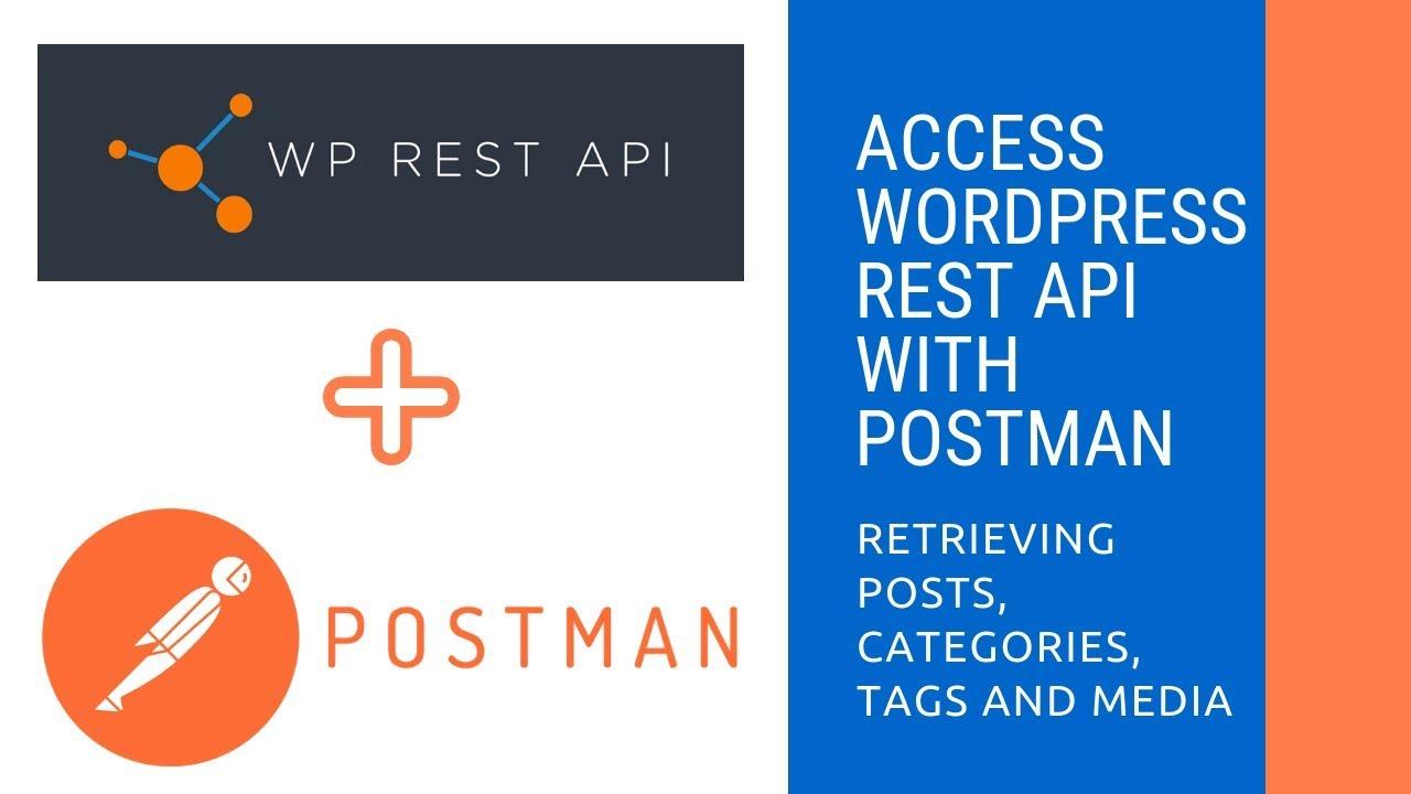 Postman requests to WordPress REST API