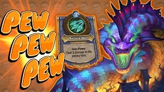 HERO POWER EVERY TURN?! Pew Pew Pew - Standard Constructed - The Witchwood