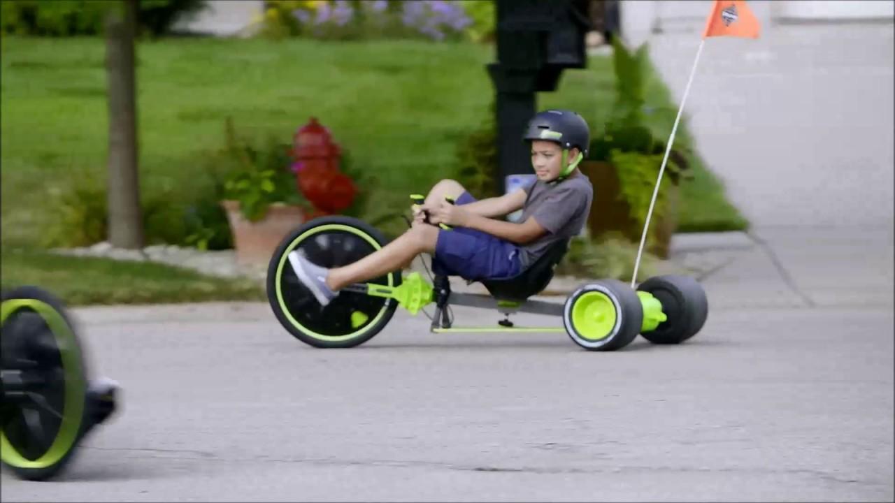 Smyths Toys - Huffy Green Machine 20inch - YouTube