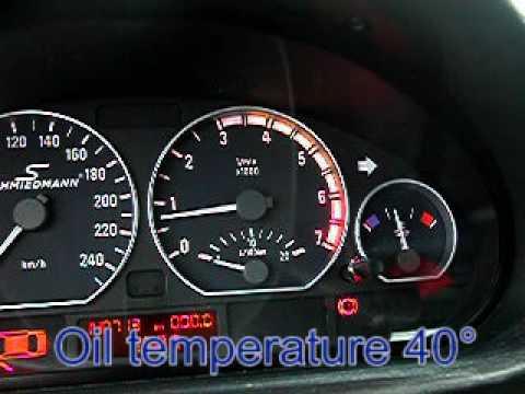 Bmw E46 M3 >> BMW E46 330CI instrument cluster modification for oil ...