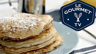 Apple Pancakes Recipe - LeGourmetTV