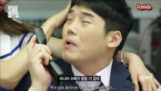 [Engsub] SNL Korea - Tiffany the lovely girlfriend