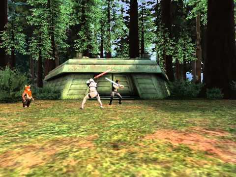 Trooper vs. Han V - Star Wars Scene Maker
