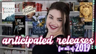 2019 NEW RELEASES THAT I CAN'T WAIT FOR
