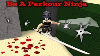 ROBLOX Be A Parkour Ninja🐱‍👤 at the edge of the knife🐱‍👤
