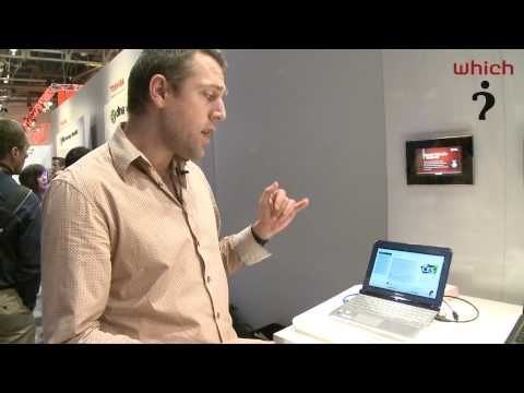 Which?: Toshiba NB305 and NB300 netbooks at CES 2010