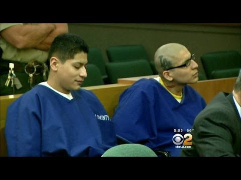 2 Gang Members Sentenced For 2013 Fatal Stabbing Of H.S. Student