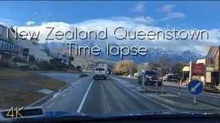 [4K] 평화로운 뉴질랜드 퀸즈타운 타임랩스 New Z…