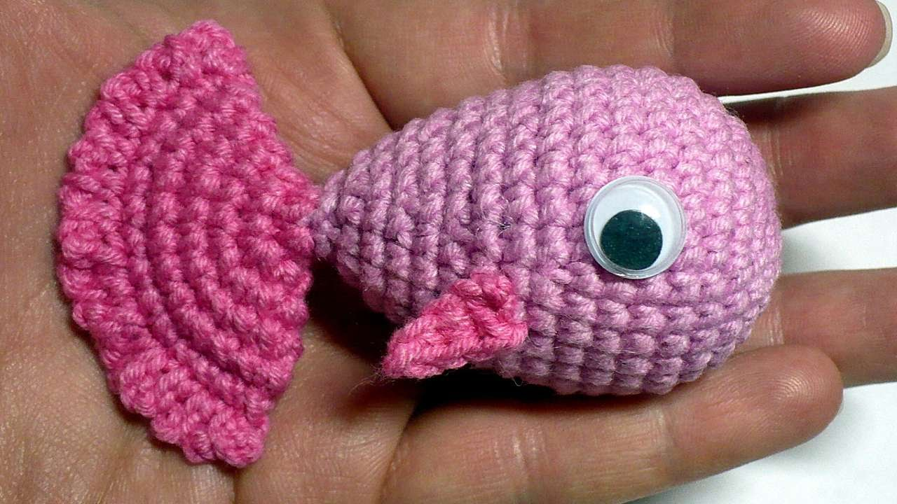 How To Create A Cute Little Crochet Fish Diy Crafts Tutorial