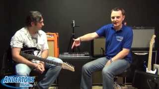 Andertons Exclusive - Line 6 POD HD500X Review and Demo