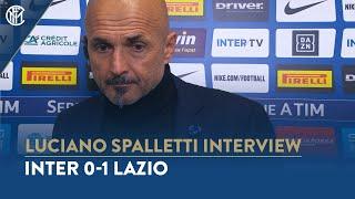 INTER 0-1 LAZIO | LUCIANO SPALLETTI INTERVIEW: