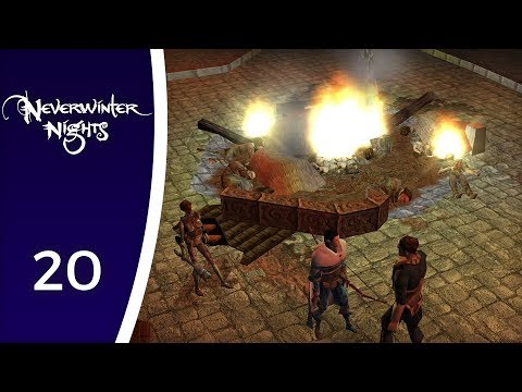 From the slums to the noble district - Let's Play Neverwinter Nights #20