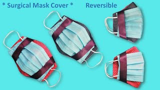 How to Make Surgical Face Mask Cover Surgical Face Mask Cover Reversible More Protection and Easy
