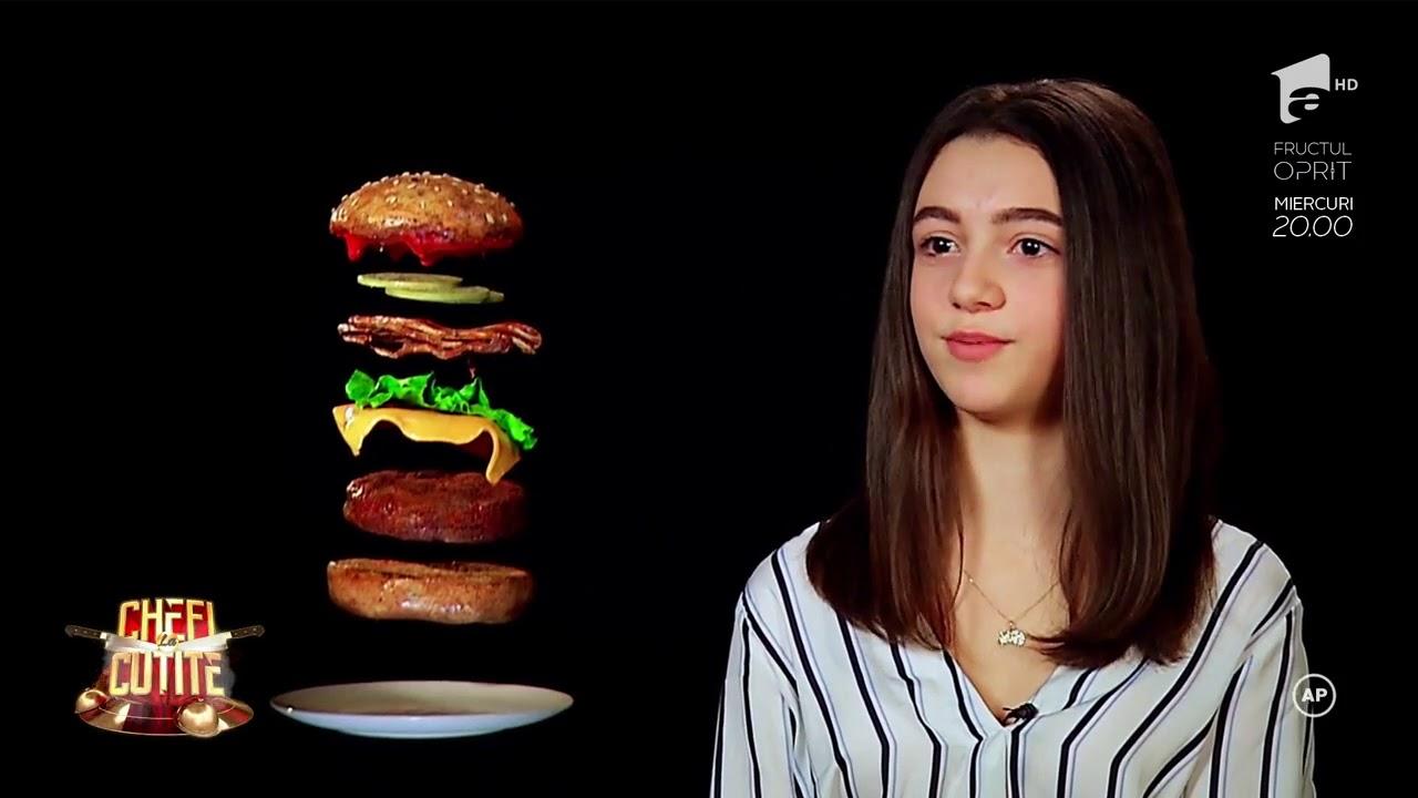 """Fiica lui Sorin Bontea face spectacol la """"Chefi la cuțite"""""""