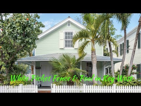 Island Living! Old Town Key West Real Estate: 1307 Petronia Street, Key West, Florida
