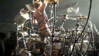 korn bakersfield 6 11 10 ray luzier drum solo and fieldy bass solo