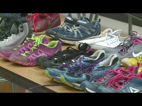Shoes donated to Prince Chapman Academy