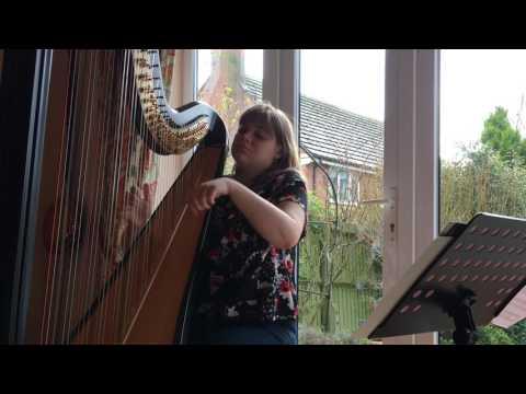 Tournier Prelude no 3 - Harriet Flather (harp)