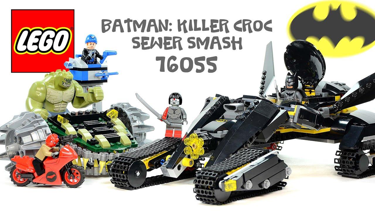 LEGO® Batman: Killer Croc Sewer Smash 76055 DC Comics w ...