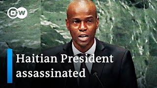 Haiti's President Jovenel Moïse killed in attack at home |