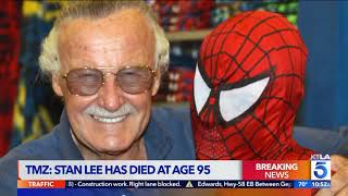 Comic Book Legend Stan Lee Dead at 95