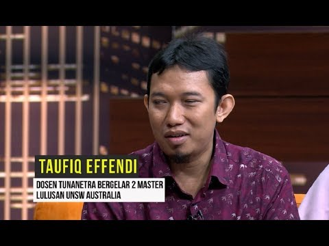 Taufiq Effendi, DOSEN TUNANETRA Peraih Dua Gelar Master | HITAM PUTIH (07/10/19) Part 3