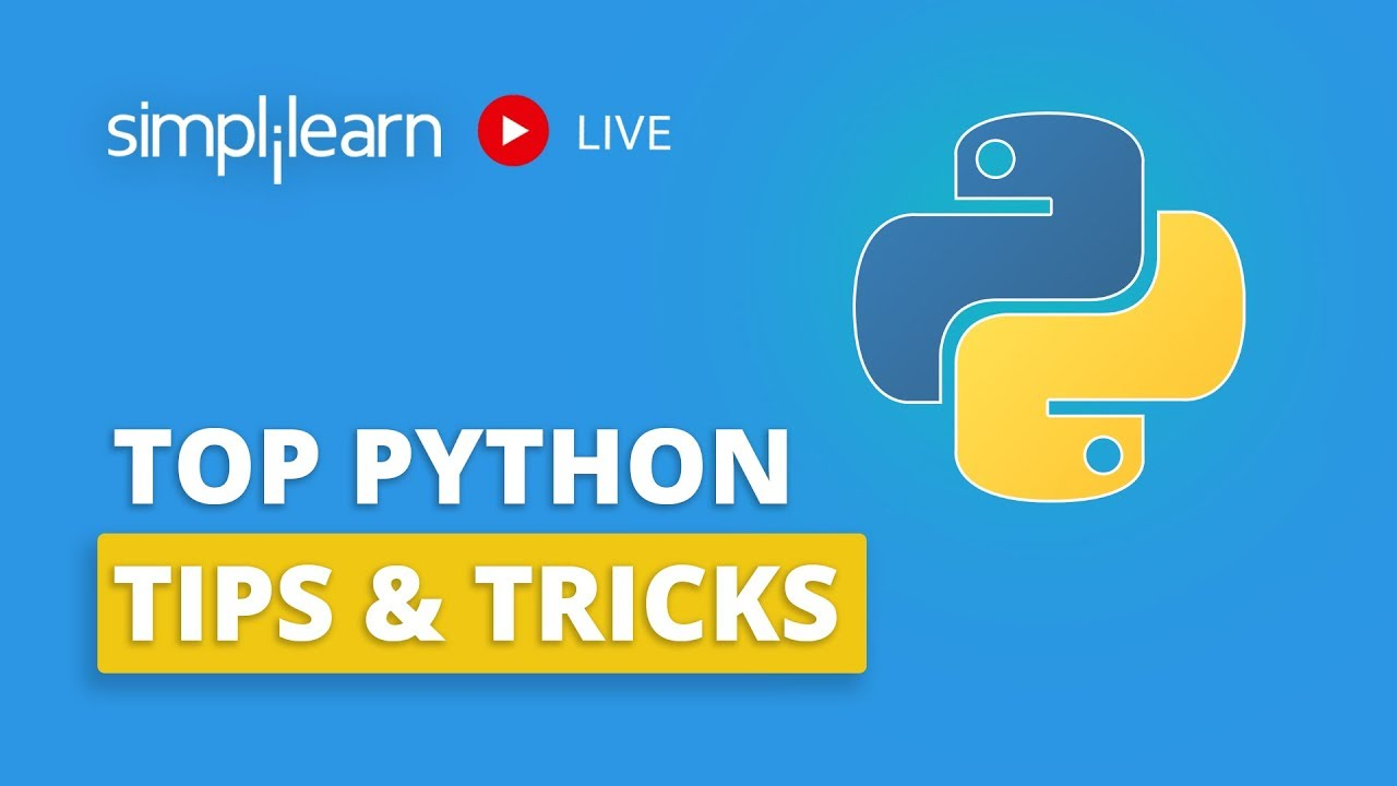 Top Python Tips And Tricks   Python Programming Tips And Tricks