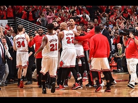 0383312f02f6 Derrick Rose Banks in Game-Winning Triple - Taco Bell Buzzer Beater ...