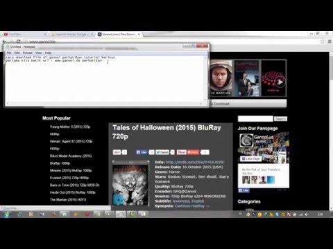 Cara Download Film Di Ganool dan Subtitlenya