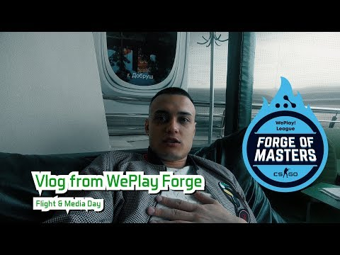 Vlog from WePlay Forge | Media Day