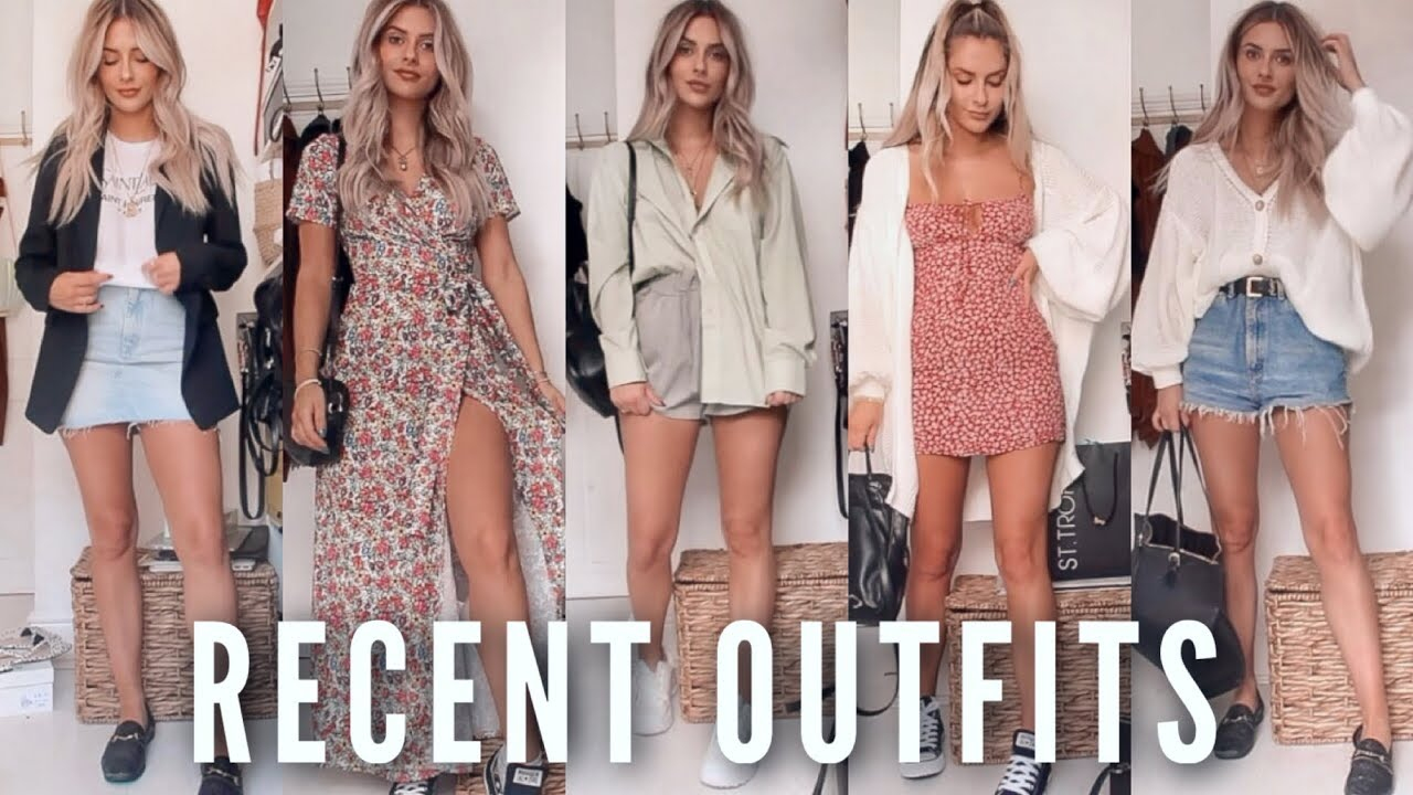 RECENT OUTFITS - 9 SUMMER LOOKS | Fashion Influx 3