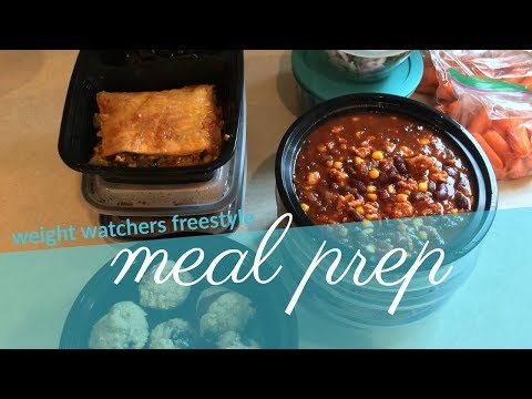 Weekly Meal Prep | Weight Watchers Freestyle | Breakfast and Lunch Prep
