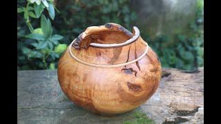 Woodturning - Vanuatu bowl
