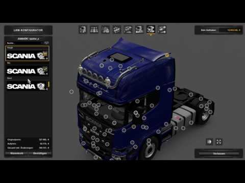 (Ets2 1.27)Scania Mega Mod 6.5