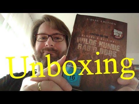 Unboxing WILDE HUNDE - RABID DOGS (Limited Mediabook Edition) von Tiberius