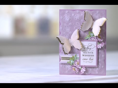 HSN | Good Crafts Fast: Anna Griffin Parchment Embellishments