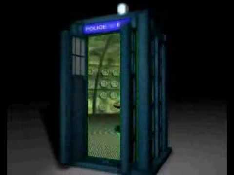 & Tardis Door Open - YouTube