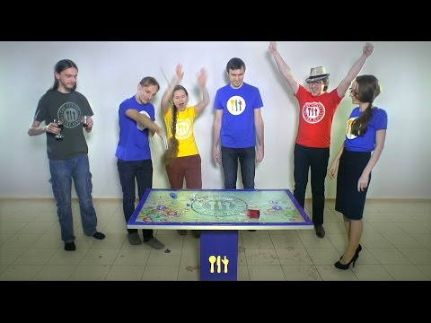 IRT - Crash test of our Interactive Multi-touch Table