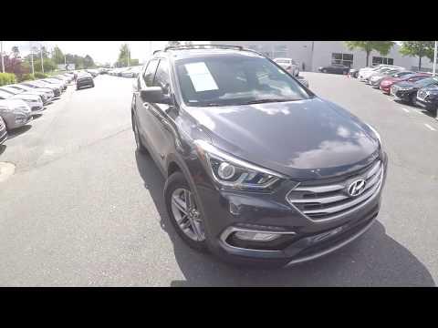 Walkaround Review of 2017 Hyundai Santa Fe 95150A