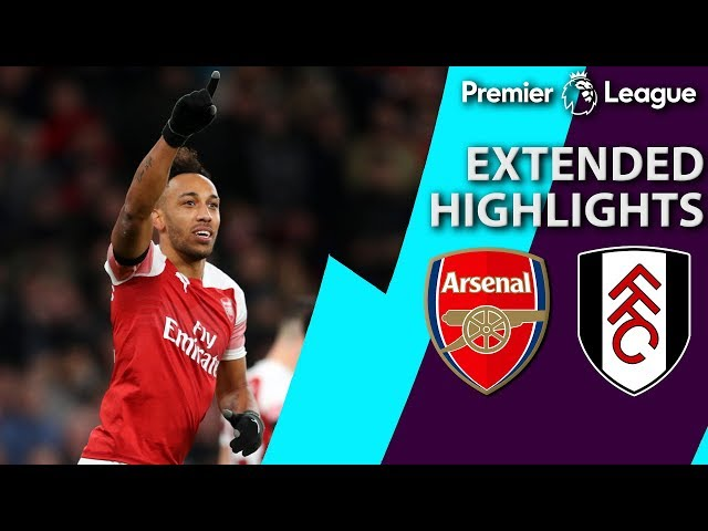 Arsenal v. Fulham | PREMIER LEAGUE EXTENDED HIGHLIGHTS | 1/1/19 | NBC Sports