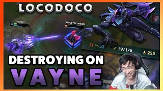 Locodoco Vayne in LPP Scrims! How good is the 9.1 Buff to Vayne?