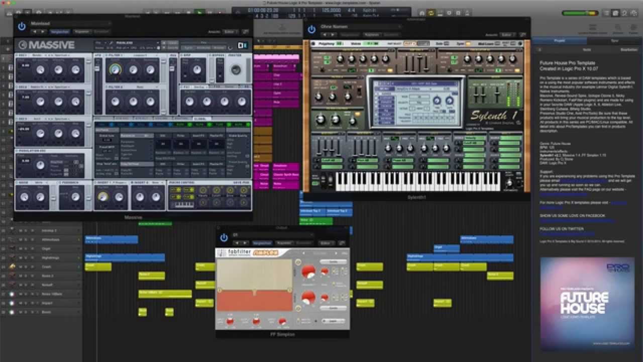 Logic Pro X Piano Roll Draw Instruments - YouTube