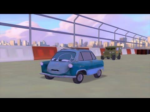 Disney Pixar CARS 2 Black Lightning McQueen Epic Race Game Death Weapons Vs Professor Z |