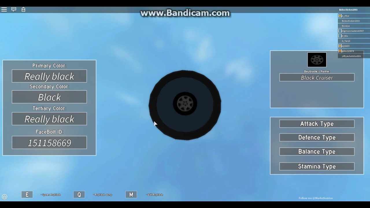 face bolt id roblox