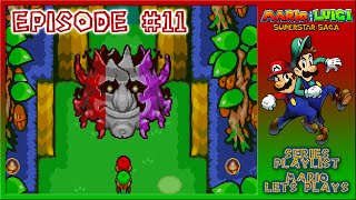 Mario & Luigi: SuperStar Saga - Navigating Chucklehuck Woods - Episode 11
