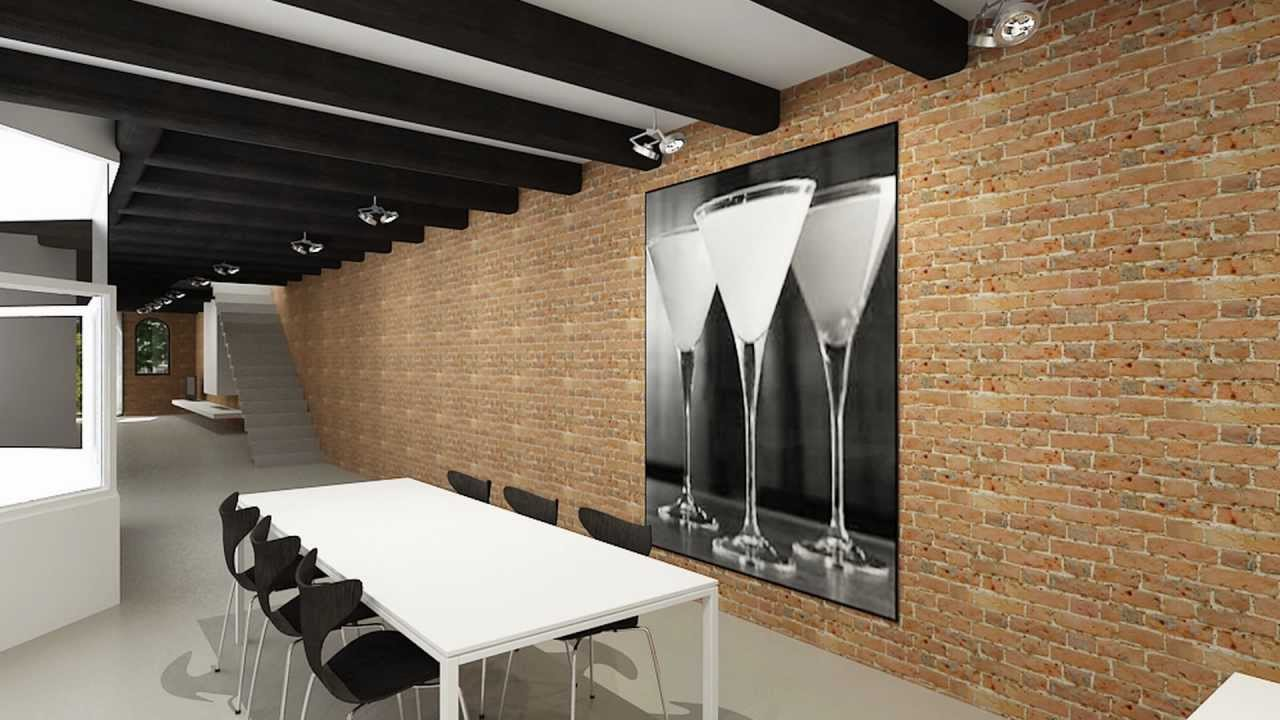 Bekijk een super modern interieur van een grachtenpand in amsterdam youtube for Interieur moderne