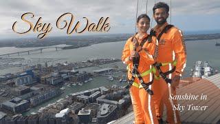 Sky Walk | 192 metres | Sky Tower | Auckland | Sanshine in New Zealalnd
