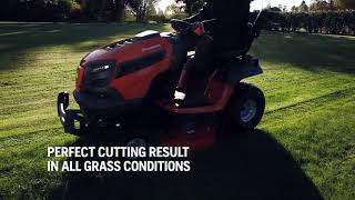 Husqvarna ClearCut™ fabricated cutting deck for Garden Tractors