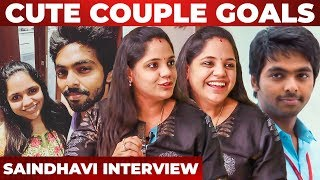First Date With GV, School Days Love, Best Heroine Of GV - Singer Saindhavi Interview   Part 1